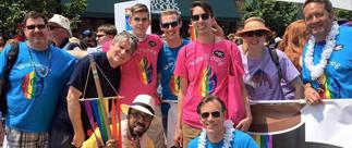 portrait of Pride Parade