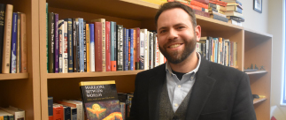 portrait of Dr. Zachary Moon publishes new book; hopes to spark conversation on veterans reentering society