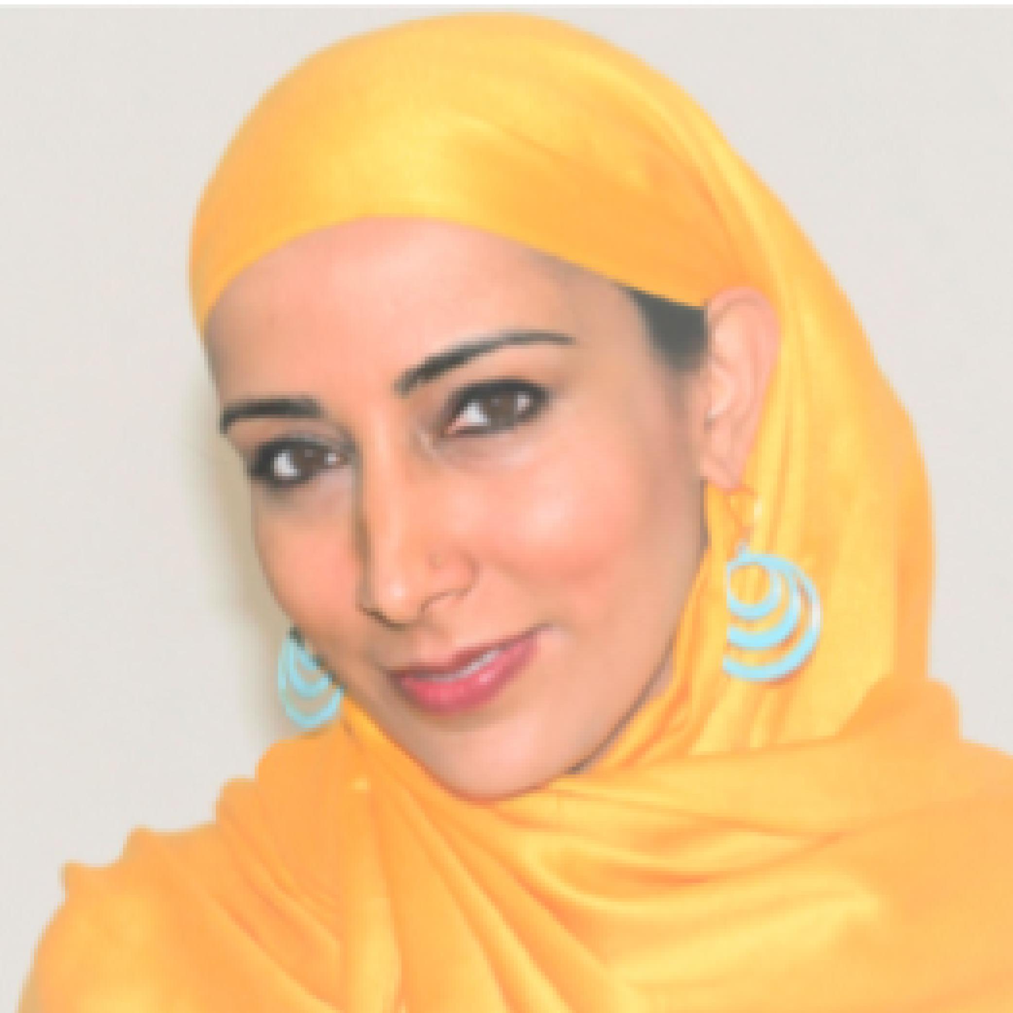 portrait of Najeeba Syeed